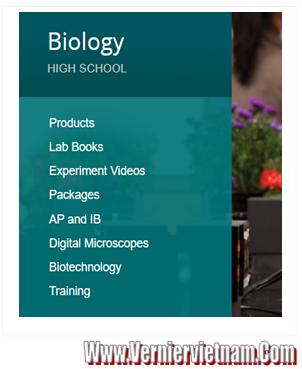 Thiết bị thí nghiệm môn SINH HỌC (Biology,Advanced-Inquiry Biology)  Deluxe LQ2 BIO-ODX, Bộ thí nghiệm Sinh học với LabQuest 2 Deluxe LQ2-BIO-ODX