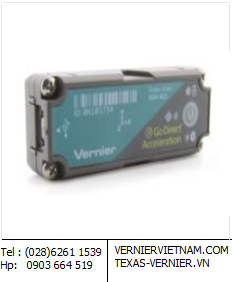 GDX-ACC, Cảm biến Wireless & USB Go Direct™ Accelerate Sensor